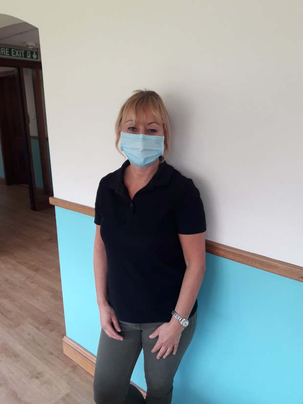 Staff member Donna Stead at Lamel Beeches