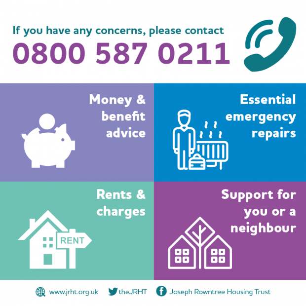 If you have any concerns please phone 0800 587 0211