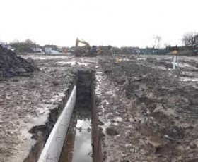 New Lodge construction site
