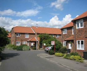Street of homes in Selby, Beech Grove
