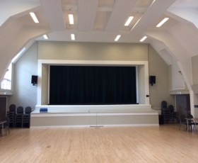 Folk Hall Orchard Hall now